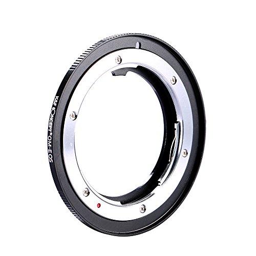 K&F Concept レンズマウントアダプター KF-OMEF (オリンパスOMマウントレンズ → キャノンEFマウント変換)