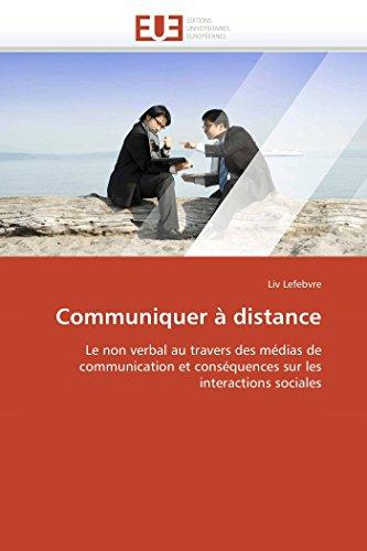 Communiquer à distance