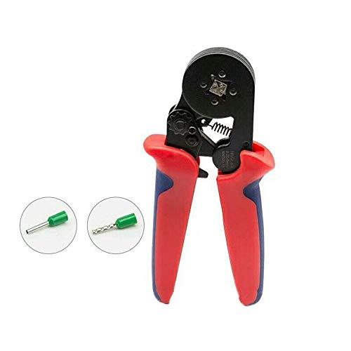 LUBAN Crimper Plier Self-Adjustable Ratchet Wire Crimping Tools HSC8 6-4A 0.25-6mm²