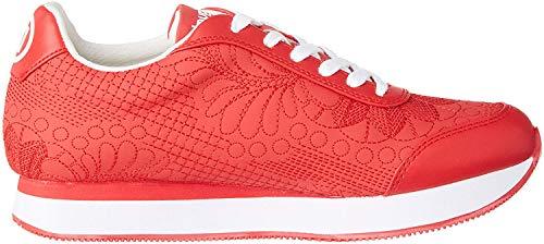 Desigual Shoes Galaxy Lottie, Zapatillas para Mujer, Rojo Roja 3061, 41 EU