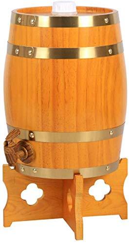 Holzfass Weinfass Eichenfass Whiskyfass Für Die Lagerung Ihrer Eigenen Whiskey, Bier, Wein, Bourbon, Brandy, Hot Sauce Und Vieles Mehr 5/10 Liters