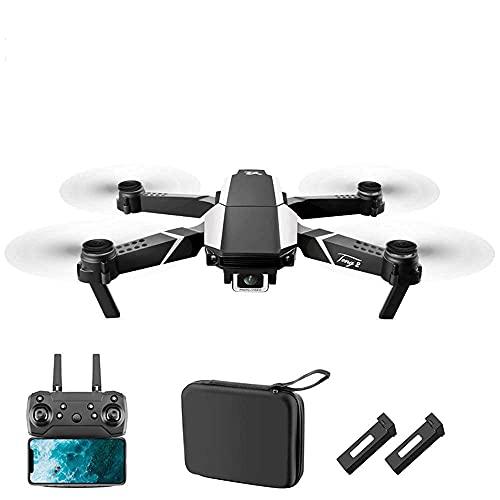 J-Clock Drone Pieghevole Mipan con videocamera HD 1080P FPV WiFi RC Quadricottero, Controllo vocale, Controllo gestuale, Volo traiettoria, GSensor, Drone per Adulti Bambini