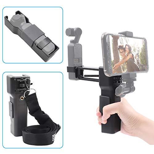 iEago RC Handheld Z Achsen Stabilisator Anti Shock Einbeinstativ mit Tragetasche Portable Storage Shell für DJI OSMO Pocket Zubehör