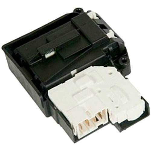Cierre blocapuertas lavadora original LG F2J6NM0W F2J6QY0W F2J6QY8S F2J6TN0W F2J6TN8S F2J6TY1W F2J6WN0W