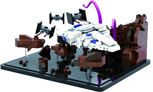 Brigamo Juego de calderas con diseño de nave espacial, 3 cazadores en T y monstruo tentáculo.