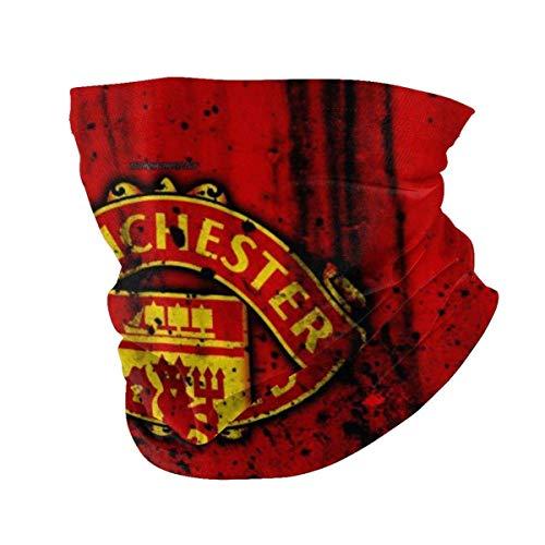 Manchester United Football Club14 - Pasamontañas para motocicleta, color negro