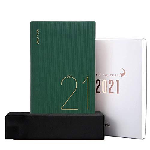 unknows Cuaderno Marginf, Organizador Planificador 2021 Cuaderno Diario A5 Cuaderno Diario Semanal Mensual Cuaderno Viaje