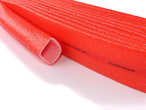 Schutzschlauch PE Abfluss 10 m Isolierschlauch 4 mm Dämmung | Climaflex (Schutzschlauch Abfluss, 100mm x 4mm x 10m)