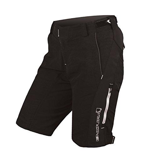 Endura Woman SingleTrack Ii Shorts, Schwarz, Größe UK 12