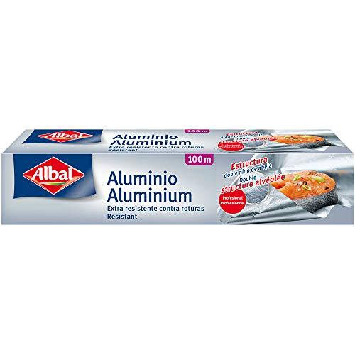 ALBAL Rolle Aluminium, leicht zu schneiden, strapazierfähig 1 Stück 100 m