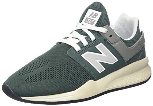 New Balance Damen 247v2 Sneaker, Grün (Faded Rosin/Marble Head Eb), 39 EU