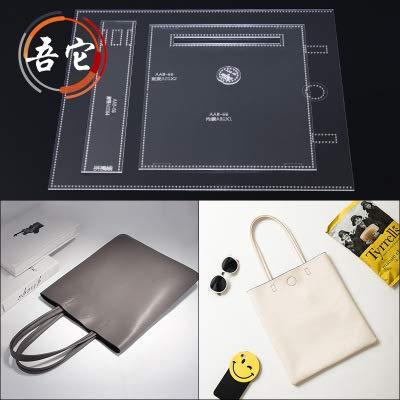 JD バック アクリル型紙 レザークラフト用品2 (手提げ)