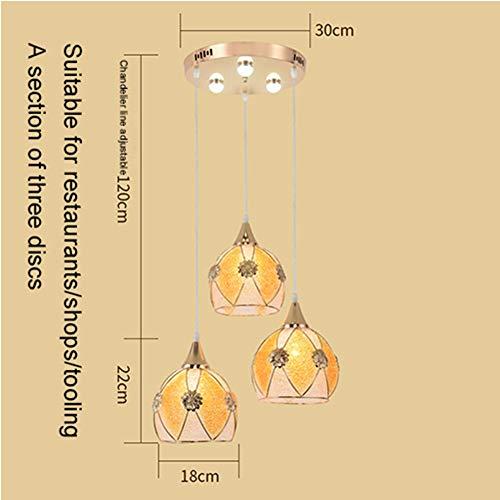WHL.HH Europäischer moderner minimalistischer LED-Kronleuchter, personalisierte kreative Deckenleuchte,A,XXXL