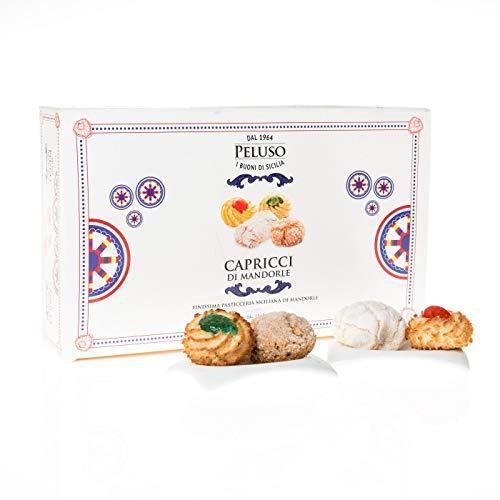 Peluso - Capricci di Mandorla - Pasta di Mandorle Siciliane Assortite Gr. 400