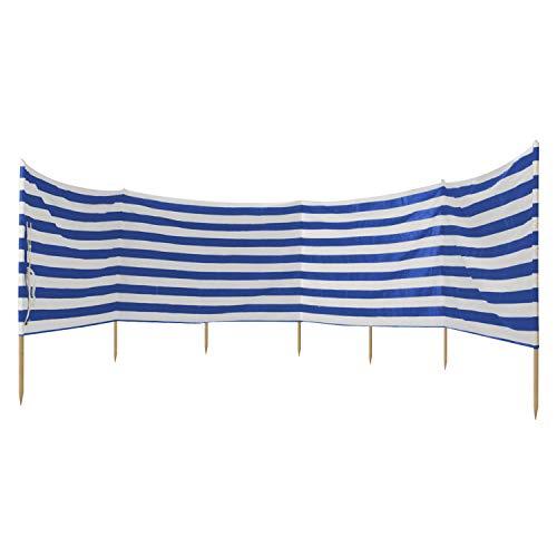 Idena 7570021 – Brise- Vent pour la Plage, Le Camping et Le Jardin - Environ 8m x 80cm