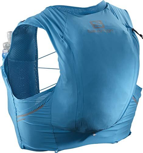 Salomon Sense Pro 10 Set Running Hydration Vest, Hawaiian Ocean/Black, X-Small