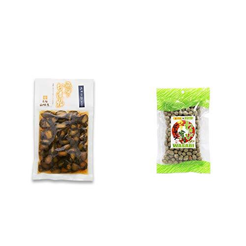 [2点セット] 飛騨山味屋 きゅうり醤油漬(150g) ・わさびマヨピーナッツ(150g)
