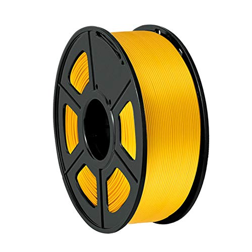 3D Printer Filament, PLA+ Filament 1.75mm, Dimensional Accuracy +/- 0.02mm, 1kg Spool-Gold B_1.75mm