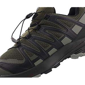 Salomon XA Pro 3D V8 Men's Trail Running / Hiking Shoe, Grape Leaf/Peat/Shadow, 11.5 D (M)