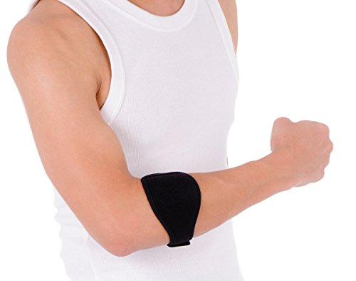 axion- Tennisarm Bandage. Golferarmstütze: Ellbogenbandage – Epicondylitis Manchette. Hilfe bei Ellenbogenschmerzen.