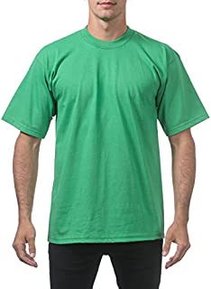 Pro Club Men's Heavyweight Cotton Short Sleeve Crew Neck T-Shirt