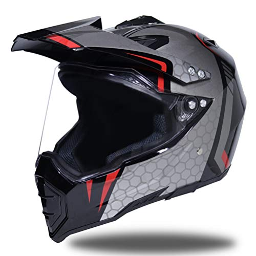 Shorkproof Off Road Full Face Casco de Moto Cascos de