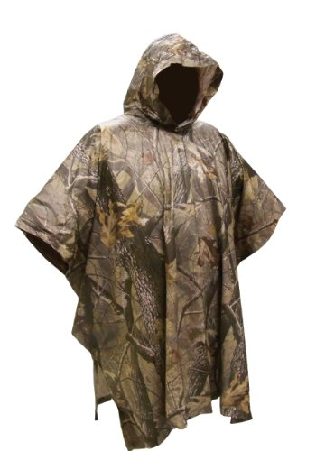Coleman Unisex-adult Adult Pvc Poncho Camo Poncho, Realtree Ap, Universal