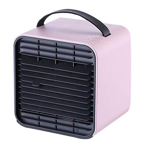 Acondicionador de aire acondicionado Unidad de aire portátil personal refrigerador ventilador de aire acondicionado portátil for Ministerio habitación tranquila USB recargable de nebulización de refri