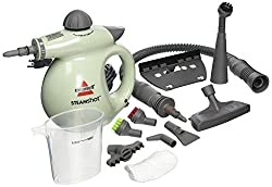 top 10 handheld steam cleaner BISSELL 39N7A / 39N71 Steam Shot Deluxe Cleaner for Hard Surfaces, Light Green