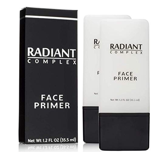 Radiant Complex Face Primer - Flawless Base for Foundation and Makeup -1.2 Fl Oz (2 - Count)