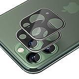 SLEO Verre Trempé Caméra Arrière Protecteur pour iPhone 11 Pro[Couverture Complète][2 Pack],3D...