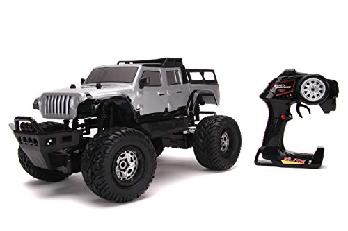 Jada Toys Fast & Furious F9 1:12 4x4 2020 Jeep Gladiator Elite RC Remote Control Car 2.4 GHz, Toys for Kids and Adults