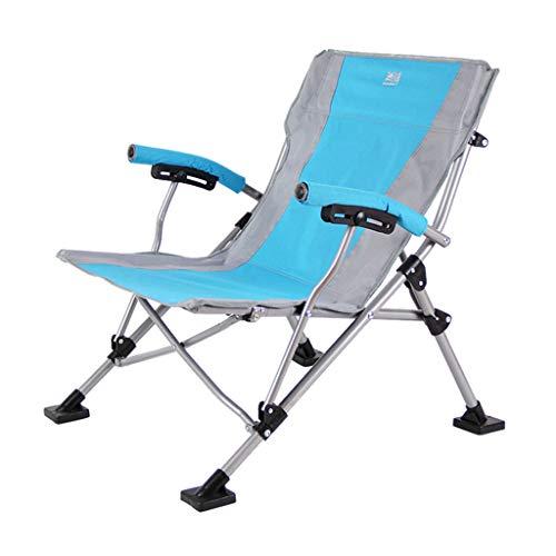 FAPROL Campingstuhl Faltbar Garten Liege mit Tragetasche Low Beach Camping Stühle für Erwachsene Bequem und Ultraleicht