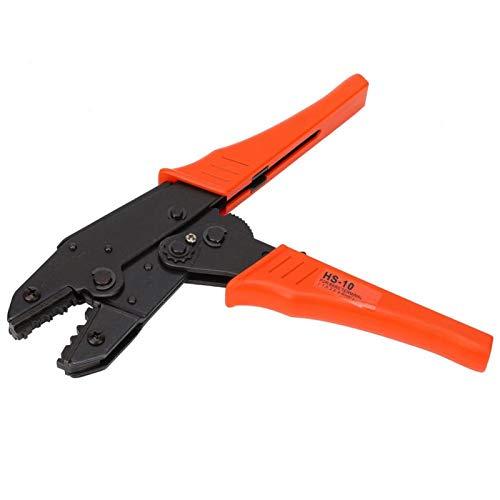 Juego de herramientas de prensado de alambre de ratchat autoajustable, para herramienta de mano de alambre de cable no aislado con pasador profesional de Dupont