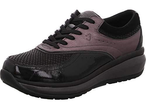 JOYA Sydney 758855 - Scarpe da succhietto da donna, 800 cas Sydney, colore nero/grigio, Nero (Nero ), 36 EU