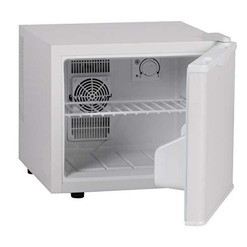 AMSTYLE Minikühlschrank 17 Liter / Minibar weiß / Getränkekühlschrank / Kühlschrank 5° bis 15°C (EEK: A+)