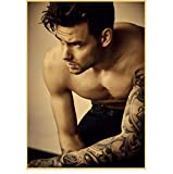 ZOEOPR Poster Liam Payne Porträt Hübscher britischer