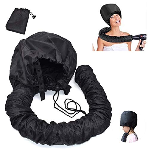 Trockenhauben für Haare,Haartrockenhaube Frei Verstellbar für Pflege Tiefenpflege,Portable Föhnhaube Attachment für Haartrockner