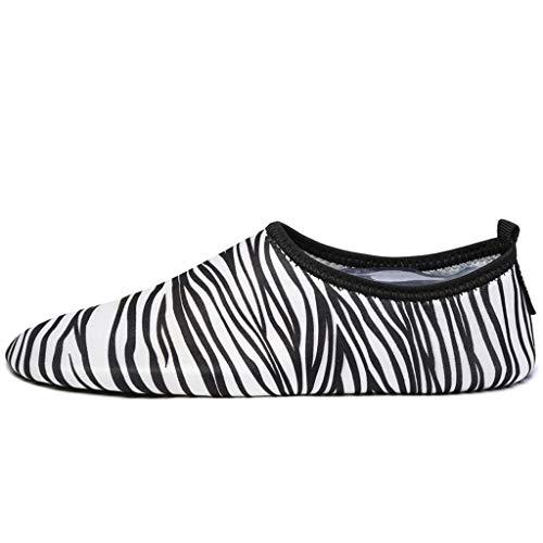 YQQMC Zapatos de Deportes acuáticos para Hombres y Mujeres Zapatos de Secado rápido Respirable (Color : White, Size : 37/38EU)