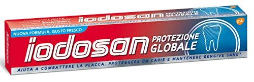 Set 6 IODOSAN Dentifricio protezione globale fresco 75 ml per l'giene orale