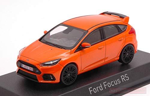 NOREV NV270566 Ford Focus RS 2018 ORANGE METALLIC 1:43 MODELLINO DIE CAST Model