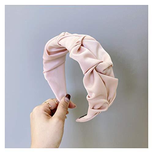 GGBHD - Diadema de pelo para mujer, diseño de flores, color rosa