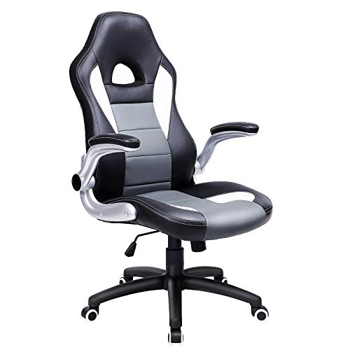 SONGMICS Gaming Chair, High Office Chair,...