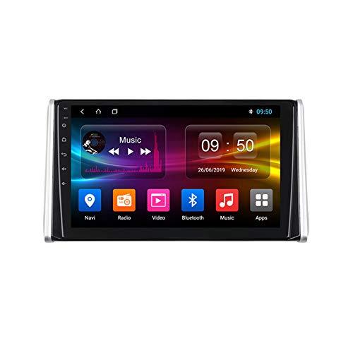 TypeBuilt Android Car Stereo Radio De Coche 9 Pulgadas Unidad Principal Reproductor Multimedia Receptor De Video Carplay para Toyota RAV4 XA50 2018-2020 Autoradio Mit Navi,4g,2G+32G