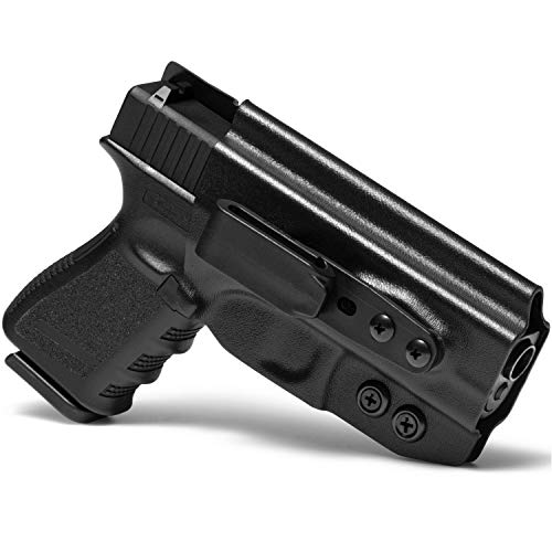 Concealment Express Tuck IWB KYDEX Holster fits S&W M&P Shield 9/40 (Incl. M2.0) | Ambidextrous | Black
