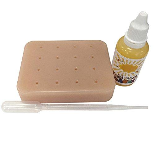 Juguete Relleno Pimple Pus Adolescentes Stress Relief Toys Pimple Popping Game para adultos Ni/ños Pimple Popper Toy Squeeze Pimple Popping Stress Relief