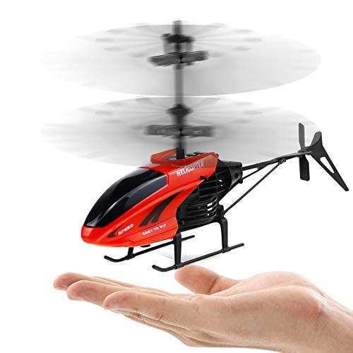 Cypin Hubschrauber ferngesteuert Mini Helikopter Fernbedienung RC Helicopter Indoor Flugzeug Geschenk Kinder S100 3.5 Kanal 2.4 GHz LED Gyro Schwebefunktion