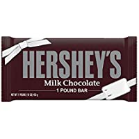 HERSHEY'S Milk Chocolate Candy, 1 Lb. Bar