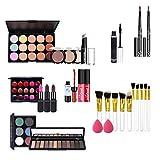 Set de Maquillaje Kit de Maquillaje Todo en uno Kit de Maquillaje para Mujeres Kit Completo Brillo de Labios Sombra de Ojos Corrector Pincel de Maquillaje