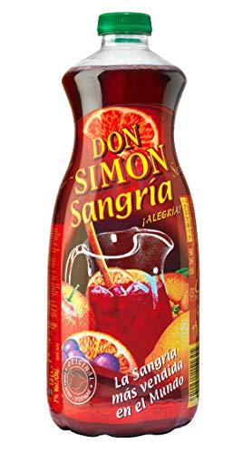 Don Simon Sangria - Packung mit 6 Flaschen spanischen authentischen Sangria (1,5L * 6)